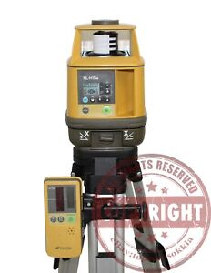 Topcon Rl h1sa Slope Self leveling Laser Level spectra Precision trimble grade