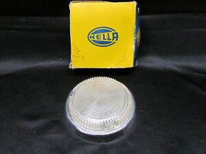 Nos 4 X 4 Hella Round Interior Dome Light Vw Camper Bus Trailer