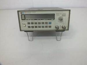Hp Agilent 5384a Frequency Counter 10hz 225mhz
