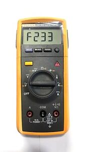 Fluke 233 Remote Display Digital Multimeter With Tl75 Hard Point Test Lead Set