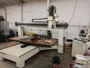 2002 Motionmaster Sb 510 Cnc Router Ref 7796156