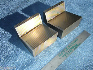 Taft peirce Magnetic Transfer V blocks Laminated 20 Surface Grintools Precise