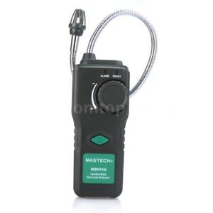 Mastech Ms6310 Combustible Gas Leak Detector Methane 10 40 Sound Light Alarm