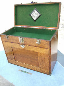 Gerstner Oak 042 Tool Box W key machinists Book Included Machinist Toolmaker Wow