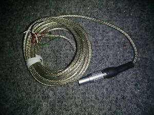 Extension Cable With Miniature Connector For Load Cell Futek 10 Ft