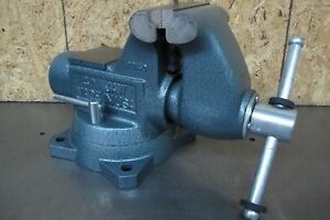 Wilton 4 Tradesman Swivel Base Vise W pipe Jaws No 1740