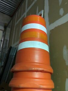 Construction Barrels With Base