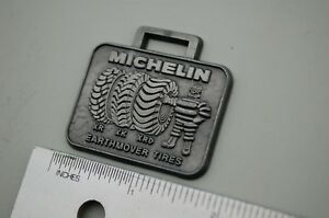 Michelin Earthmover Tires Vintage Watch Fob Heavy Equipment Wheel Loader Xr Xk