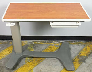 Hill Rom Overbed Table Adjustable Height Working