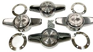 1956 1962 Corvette Hubcap Spinner Set
