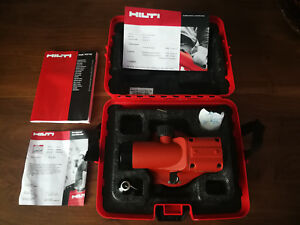 Mint Hilti Pol 10 Optical Level Measuring Systems W 20x Magnification