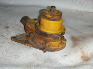 Minneapolis Moline Water Pump With Pulley For Hd220 Or U302 Super T12