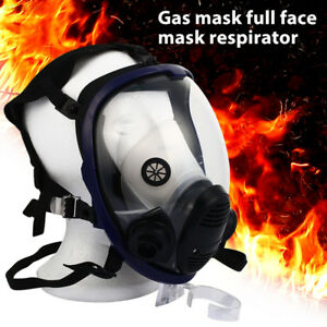 98bd Painting Gas Mask Facepiece Respirator Industrial Chemicals Painting