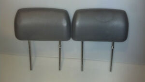 Gray Toyota Pickup Bench Seat Headrests 1984 1988
