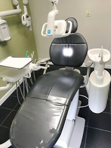 Adec 311 Dental Chair Package Chair Unit With Cuspidor Led Light mfg 07 2015