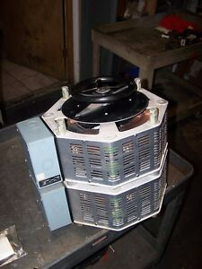 New Superior Electric 13 6 Kva Powerstat Variable Transformer 240 Vac 1256dt 2d