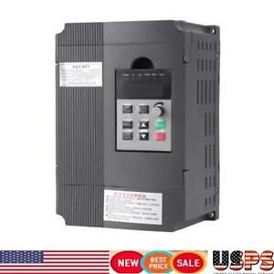 New 2 2kw Single Phase Input To 220v 3 Phase Output Variable Frequency Drive Vfd