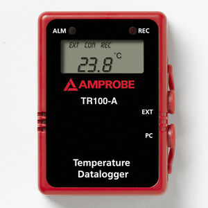 Amprobe Tr100 a Temperature Data Logger With Digital Display And Usb Cable