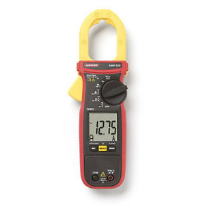 Amprobe Amp 220 600a Ac dc Trms Clamp Multimeter