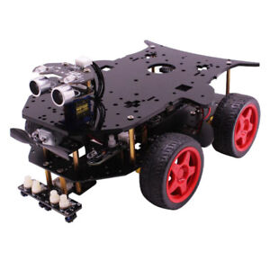Yahboom 4wd Bluetooth Smart Robot Car Diy Kits Uno R3 Controller For Arduino