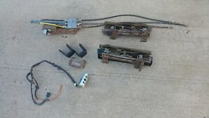 Gm 6 Way Power Bench Seat Track Assembly Motor Switch Cables Hot Rat Rod Bucket