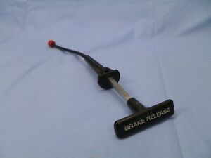 Parking Brake Release Cable Handle Emergency Brake 78 90 Chevy Caprice