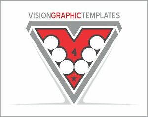 Sports Clipart Vision Graphic Templates Cd 4 Vinyl Cutter Plotter Vector