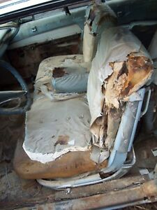 Front Bench Seat Coupe W Tracks 63 Imperial Chrysler