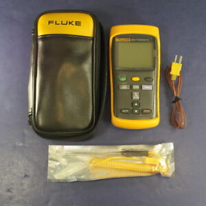 Fluke 52 Ii Thermometer Screen Protector Very Good Soft Case