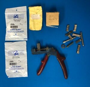 Curtis Key Cutter Model 15 Locksmith Tool Metal W Extras 1z