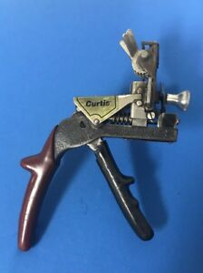 Curtis Key Cutter Model 15 Locksmith Tool Metal Dm 40 Camset 1z