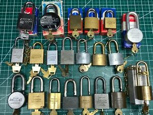 Large Collection Of Vintage New American Padlocks Junkunc Bros Locksmith