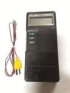 Fluke 51 K j Digital Thermometer With Thermocouple Operation Manual Cd