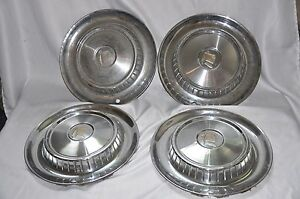 1957 Dodge Coronet Lancer Royal Set Hubcaps Knight S Head