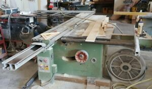 Panhans Sliding Table Panel Wood Saw Cabinet Shop