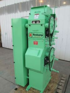 Roskamp 9x12 Two Pair High Roller Mill Single Phase