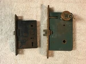 2 Corbin Russwin Mortise Locks