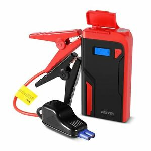 Bestek Jump Starter 12000mah Portable Car Jump Starter 400a 12v Battery Booster