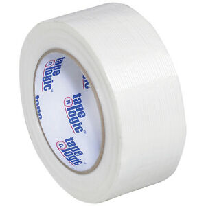 Tape Logic 1300 Strapping Tape 2 X 60 Yds Clear 12 case T917130012pk