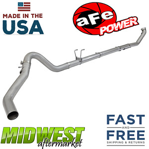 Afe Power 409 Stainless 4 Exhaust System Fits 2003 2012 Ram 2500 3500 Cummins