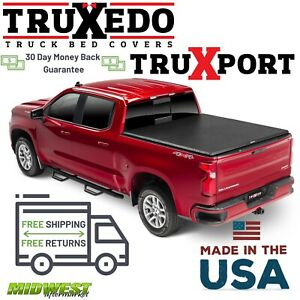 Truxedo Truxport Roll Up Tonneau Cover Fits 2019 Silverado Sierra 1500 5 8 Bed