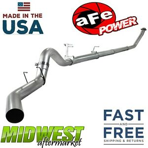 Afe Power 409 Stainless 4 Exhaust System Fits 1994 2002 Ram 2500 3500 Cummins