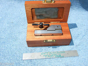 Hermann Schmidt New Grind Vise V0 1 1 2ss Toolmaker Machinist Case And Wrench Qa