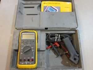 Fluke 88v Automotive Multimeter With Leads Manual And Hard Case