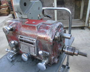 Monarch 10ee Toolroom Lathe Complete Main Gearbox In Good Shape