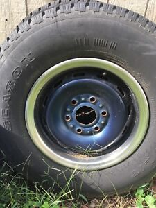Set Of Four Chevy Truck Rims For K1500 1995 Used