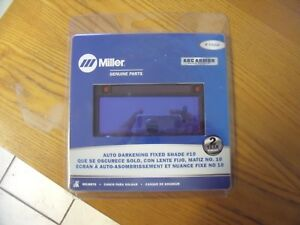 Miller Electric 770226 Welding Lens 2 X 4 In 10 Auto darkening Free Shipping