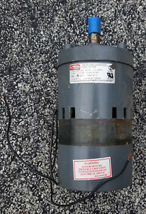 Dayton 3m136b Nos Gear Motor Some Rust 1 10 Hp
