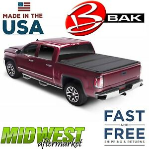 Bakflip Fibermax Truck Bed Cover Fits 2019 Ford Ranger 5 Bed 1126332