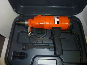 Weka Core Bore Drill Dk1203 Made In Germany 3 Speed Hand Held With Case New